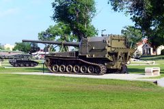 US Army Field Artillery Museum. Stock Photos