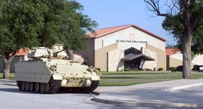 US Army Field Artillery Museum. Royalty Free Stock Photography