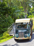 Fort Siloso Bus on Sentosa Island Stock Photography