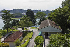 Fort Siloso on Sentosa Island Royalty Free Stock Photography