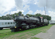 Fort Smith, Arkansas train on display at Trolley Museum Stock Images