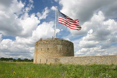Fort Snelling, St. Paul, Minnestoa fotografia stock