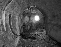 Fort Sommo de première guerre mondiale Photo stock