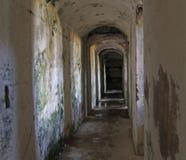 Fort Sommo van Eerste Wereldoorlog Stock Afbeeldingen
