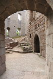 Fort of Spesbourg in Alsace Royalty Free Stock Photo