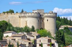 Fort St Andre. Castle near Avignon Royalty Free Stock Image