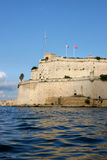 Fort St. Angelo, Grand harbour Royalty Free Stock Photo