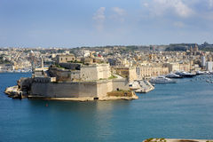 Grand Harbour Malta. Stock Photo