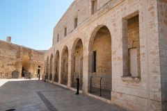 Fort St. Angelo, Malta. Fort St. Angelo in the historic City of Valletta, Malta Stock Image