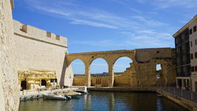 Fort St. Angelo. Three cities fortress. Malta.  Stock Photography