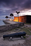 Fort in St. Augustine. Florida Stock Image