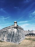 St. Augustine Fort Royalty Free Stock Photo