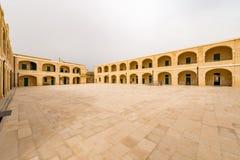 Fort St Elmo. National War Museum in Valletta, Malta stock image