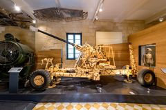 National War Museum in Fort St Elmo. Fort St Elmo - National War Museum in Valletta, Malta Royalty Free Stock Images