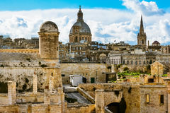 Fort St Elmo, Valletta, Malta royalty free stock image