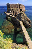 Fort of St John the Baptist in Berlenga island, Portugal. Royalty Free Stock Images