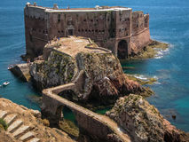 Fort  St John Baptist in Berlenga island, Portugal Stock Image