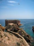 Fort  St John Baptist in Berlenga island, Portugal Stock Photography