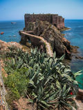 Fort  St John Baptist in Berlenga island, Portugal Royalty Free Stock Photo