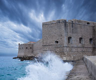 Fort St. John. Dubrovnik. Croatia. Stock Photography