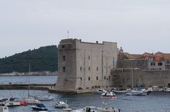 Fort St John Sv Ivana in old city of Dubrovnik Stock Photo