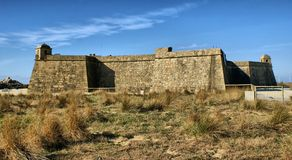 Fort of St. John in Vila do Conde Stock Images