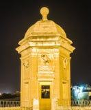Fort St Michael i Senglea, Malta royaltyfri fotografi