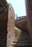 Fort staircase Stock Photography