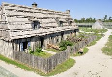 fort stary Obrazy Stock