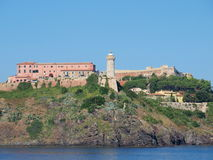 Fort Stella, Portoferraio, Elba, Italy. Fort Stella in Portoferraio, Isle of Elba, Italy Stock Photo