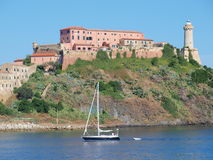 Fort Stella, Portoferraio, Elba, Italy Stock Photo