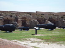 Fort Sumter Cannons Royalty Free Stock Photos