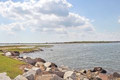 Fort Sumter: En sikt för artillerist` s royaltyfri foto