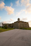 Fort at sunset Royalty Free Stock Images