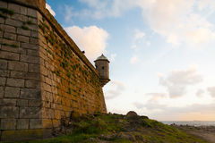 Fort at sunset Royalty Free Stock Photos