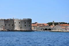 Fort Sv  Ivan in Dubrovnik Stock Photo