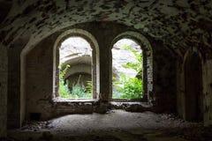 Fort Tarakanovskiy inside. Dubno. Ukraine. Royalty Free Stock Photography