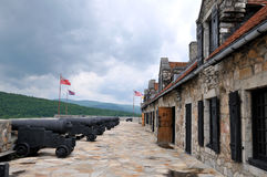 Fort Ticonderoga Stock Photography