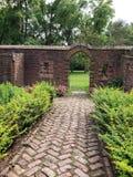 Fort Ticonderoga Gardens stock photography
