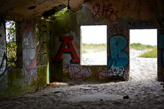 Fort Tilden Stock Image