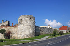 Fort tower and walls Pecs. Hungary Royalty Free Stock Images
