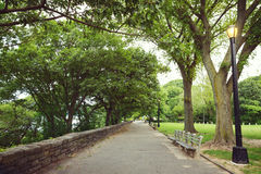 Fort Tryon park New York City, NY, USA Royalty Free Stock Photography