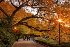 Fort Tryon-Park, New York City USA stockfotografie