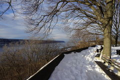 Fort Tryon Park Winter Stock Photography