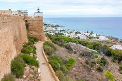 Fort Tunisien Arkivfoto