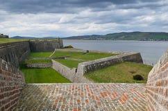 fort twierdzy George Scotland Obrazy Stock