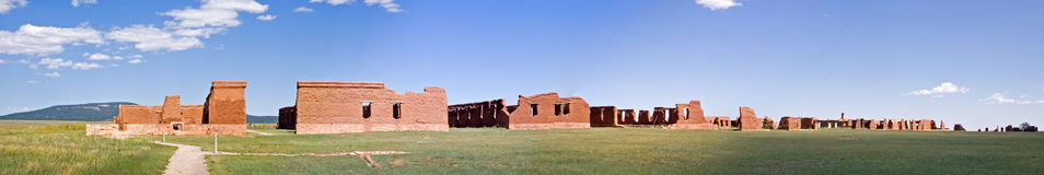 Fort Union panorama Royalty Free Stock Image