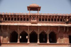 Fort van Agra, India Royalty-vrije Stock Foto
