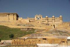 Fort van Amber, Rajasthan Royalty-vrije Stock Fotografie
