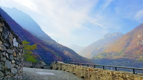 Fort van bard in Italië Royalty-vrije Stock Fotografie